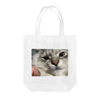 ニャンタロトートバッグ Tote bags
