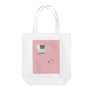 飼い主のお風呂が心配な猫 Tote bags