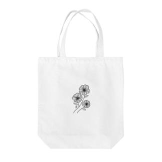 モノクロな花 Tote bags