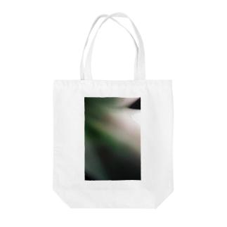 Vague green Tote bags
