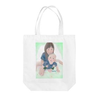 なかよし(色有り) Tote bags