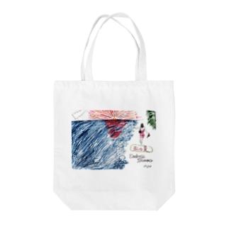 King.K 「私の夏-Endless Summer-」 Tote bags