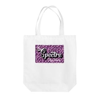 【白田亜利紗コラボ】Spectre Leopard Light Purple Tote bags