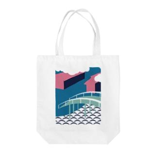 板橋アートシリーズ(板橋宿) Tote bags