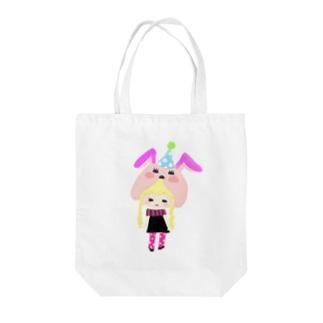 ゆめみちゃん Tote bags