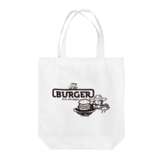 The BURGER Uncle Tote bags