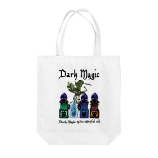 ダークマジックエクストラエッセンシャルオイル Tote bags