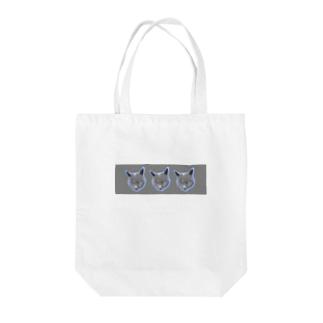 パーティーロシアンブルー(灰) Tote Bag