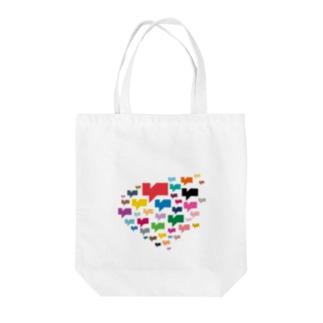 Kagc Heart Tote bags