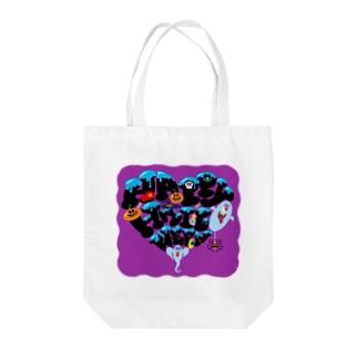 ハッピーハロウィン Tote bags