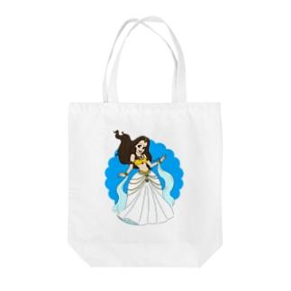 Princess A Tote bags