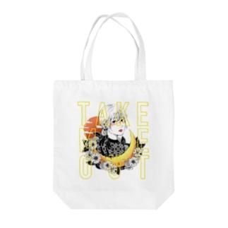 TAKE ME OUT トート(hatsune) Tote bags