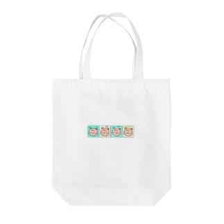 ファンシー・くま Tote bags