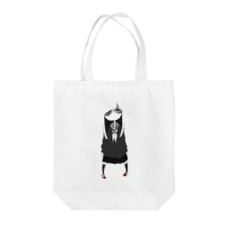 憂鬱女子 Tote bags