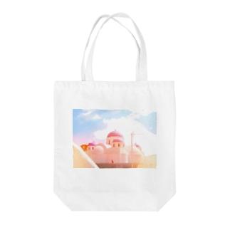 サントリーーニ Tote bags