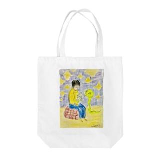 可愛い赤ちゃん Tote bags