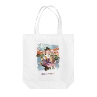 【タロットカード×埴輪】THE EMPRESS/女帝 Tote bags