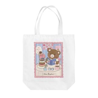 meet/bear Tote Bag