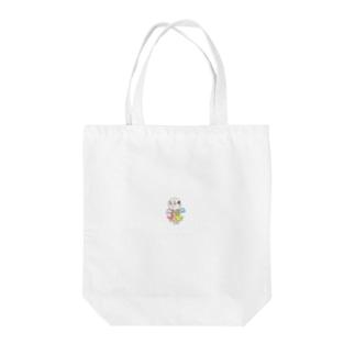 妖精ヨワ・メンタール① Tote bags