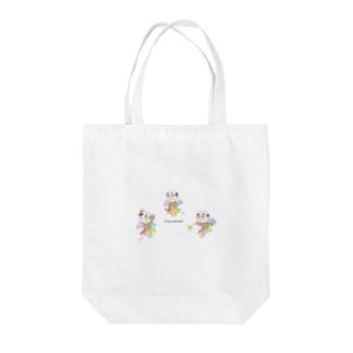 妖精ヨワ・メンタール③ Tote bags