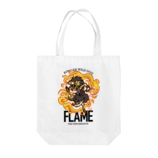 FLAME トートバッグ(light) Tote bags