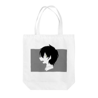 黒髪のあの子 Tote bags