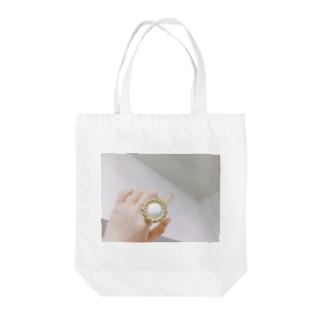 ゆびわちゃん Tote bags