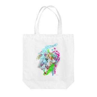 バトル イーノック Tote bags