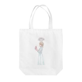 花と女子 Tote bags