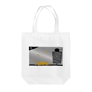 AngeThirdのバレットターゲット【弾丸】 Tote bags