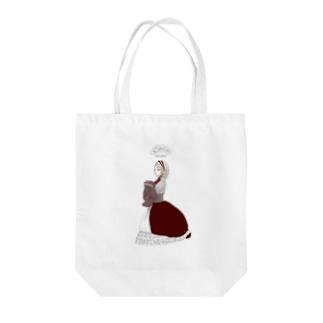 ロリータ Tote bags