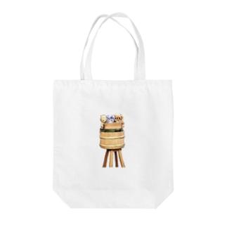 飯寿司チーキー Tote bags