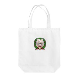 Xmasネコチャン Tote bags