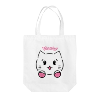 Meowにゃん子 Tote bags