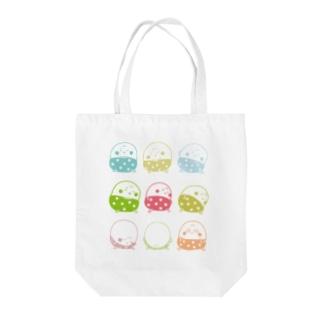 ねぼすけプヨ丸    Tote bags