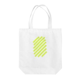 suzuri_fullgraphicT-template-XL_slash_lime_yellow_ トートバッグ
