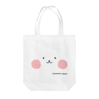 ネコペチ@顔面 Tote bags