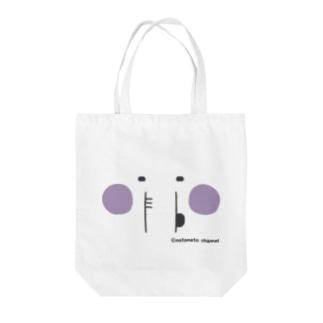 エレファン太郎@顔面 Tote bags