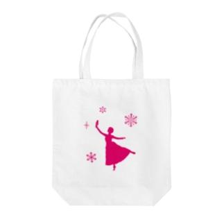 ロゴ無しクララちゃん Tote bags