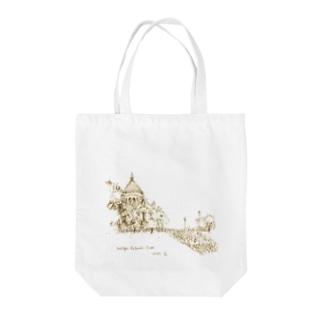旅トート  パリ Tote bags