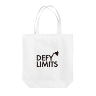 DEFY LIMITS WOMAN Tote bags