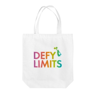 BASE forのDEFY LIMITS MAN Rainbow Tote bags