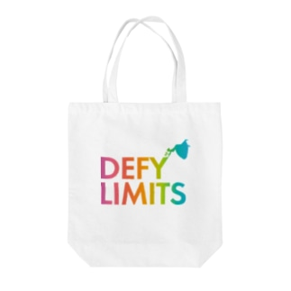 DEFY LIMITS WOMAN Rainbow Tote bags