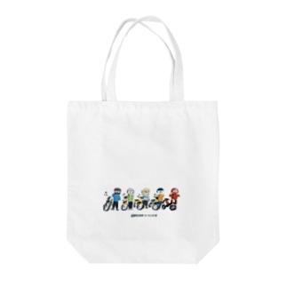 おばさんツーリング部 トートバッグ Tote bags