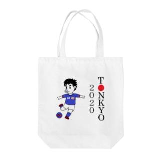 豚京オリンピッグ・パラリンピッグ2020~サッカー~ Tote bags