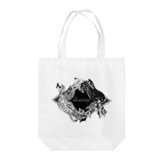 【疫病退散ノ刻】神社姫 Tote bags