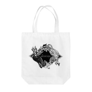 【疫病退散ノ刻】アマビエ Tote bags