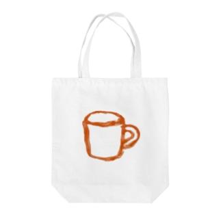 コップ 橙 Tote bags