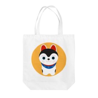 犬張子 Tote bags