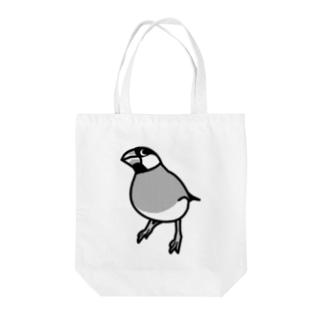 ドヤ顔文鳥 Tote bags